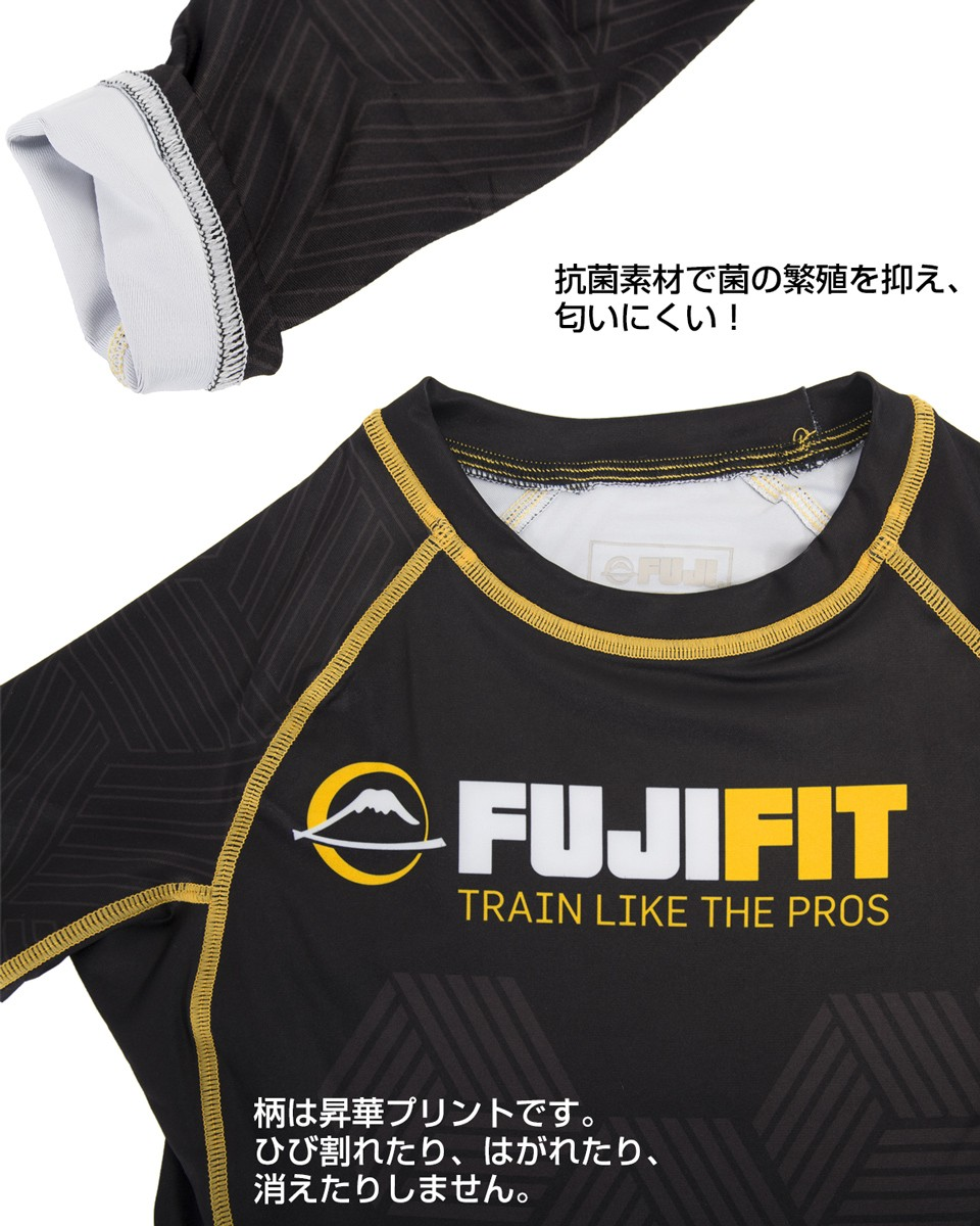 FUJI Fit Rashguard Black