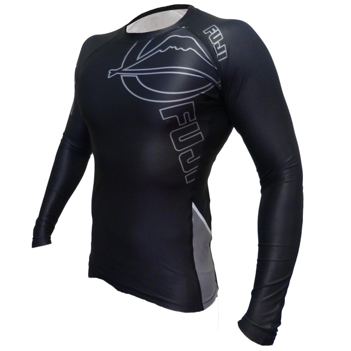 FUJI Inverted Long Sleeve Rashguard Black