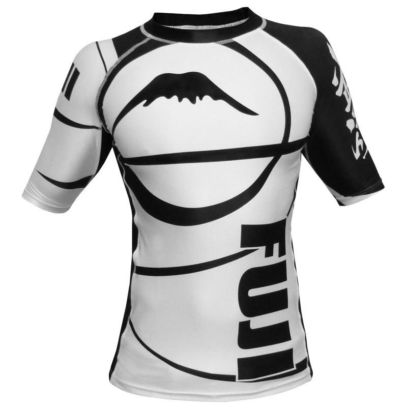 FUJI Inverted Black Short Sleeve Rashguard