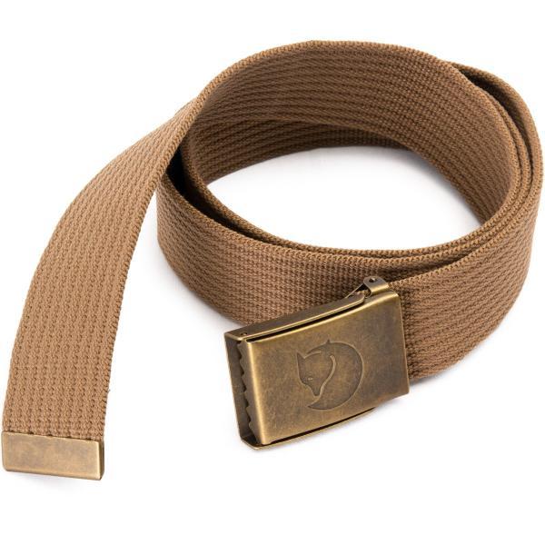 Fjall Raven フェールラーベン Canvas Brass Belt 4cm キャンバスブラスベルト|2m50cm|12