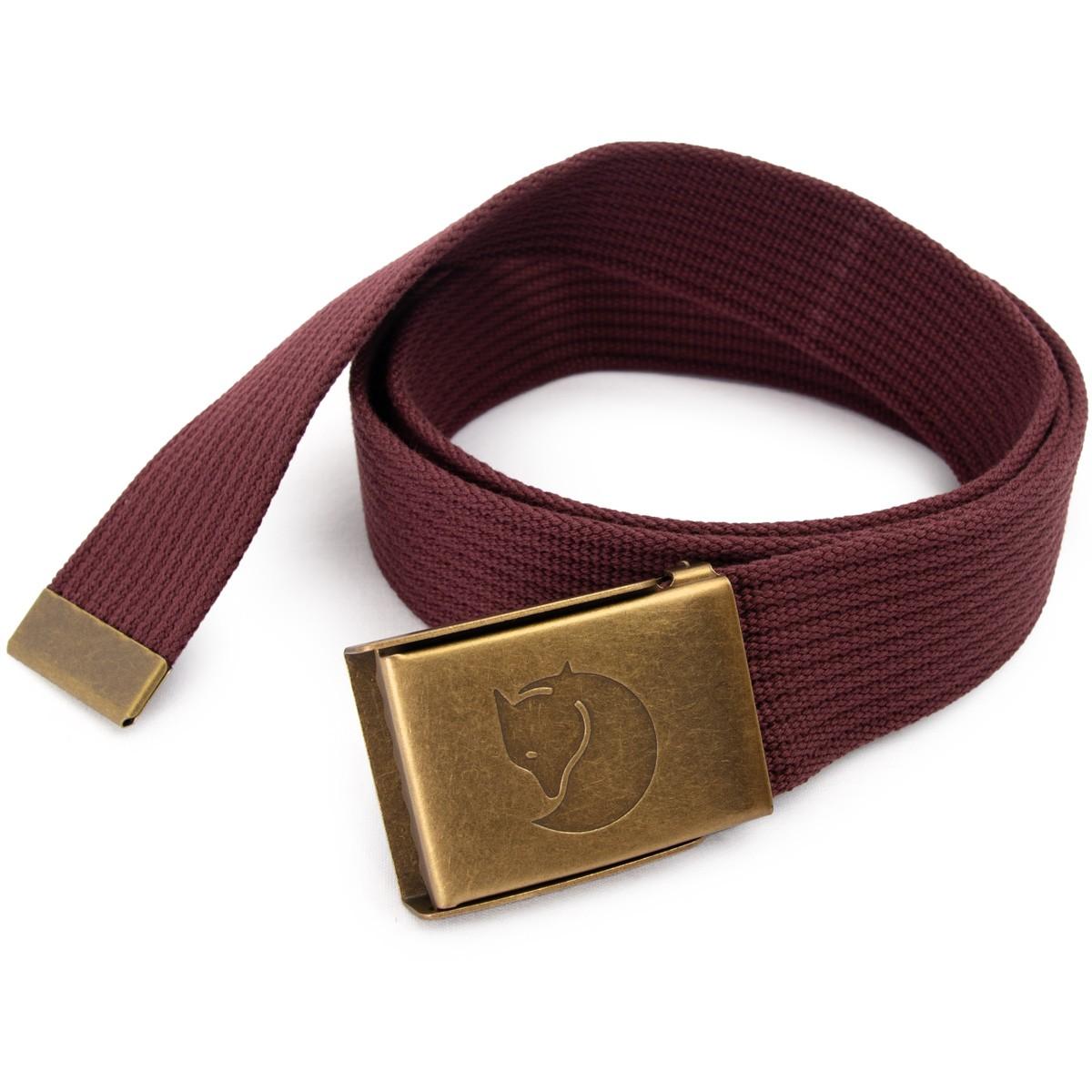 FJALL RAVEN フェールラーベン Canvas Brass Belt 4cm キャンバス ブラス ベルト