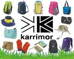 山に海に!英国の鉄板アウトドアギア、カリマー karrimor がポイント10倍!