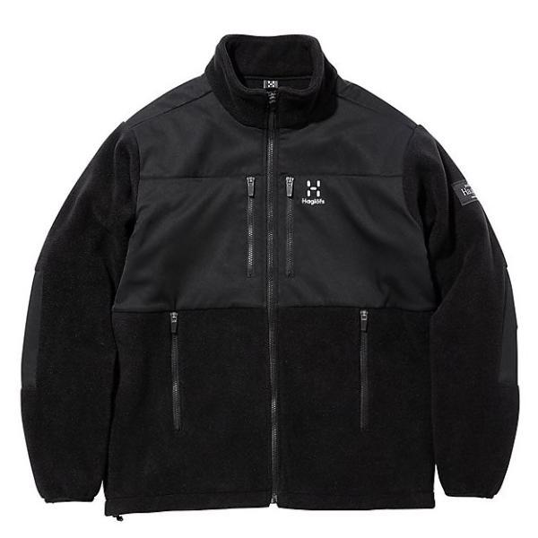 フリース Haglofs ホグロフス Combination Fleece Jacket コンビネーション フリース ジャケット|2m50cm|06