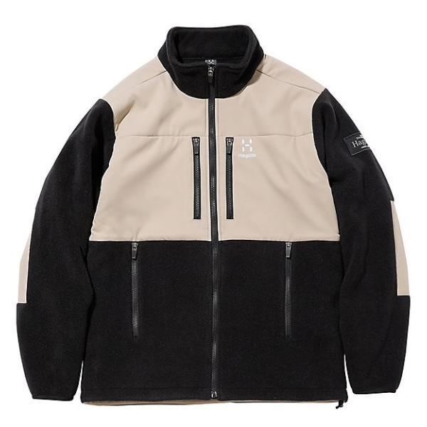 フリース Haglofs ホグロフス Combination Fleece Jacket コンビネーション フリース ジャケット|2m50cm|07