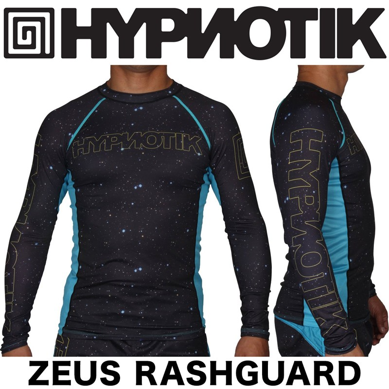 HYPNOTIK ZEUS RASHGUARD BLACK