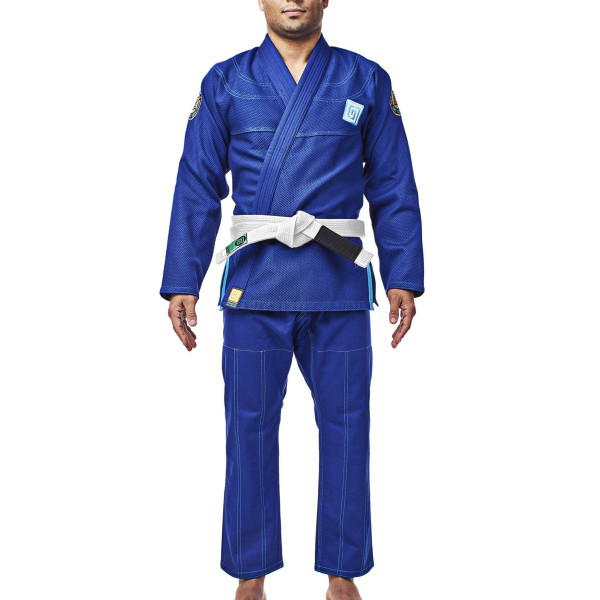 柔術着 帯付き HYPNOTIK VORTEX V2 BJJ GI WITH BELT 青 Royal Blue|2m50cm|07