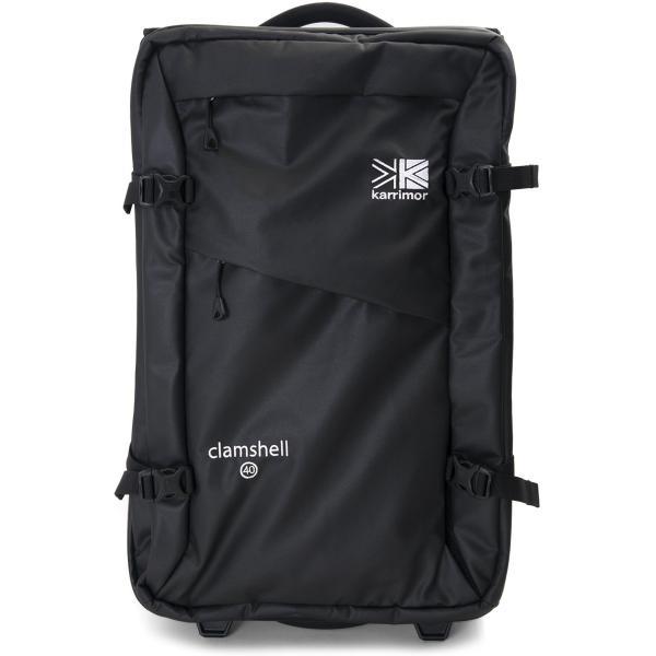カリマー karrimor Clamshell 40 クラムシェル 機内持ち込み キャリーバッグ|2m50cm|16