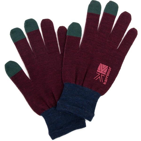 カリマー karrimor 手袋 wool logo glove グローブ 2m50cm 13