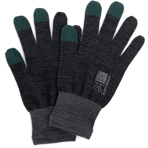 カリマー karrimor 手袋 wool logo glove グローブ 2m50cm 14