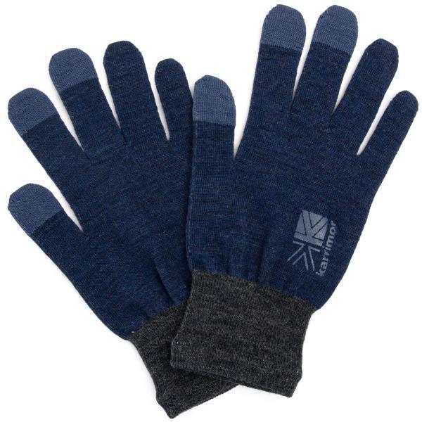 カリマー karrimor 手袋 wool logo glove グローブ 2m50cm 15