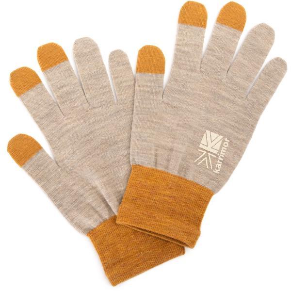 カリマー karrimor 手袋 wool logo glove グローブ 2m50cm 16