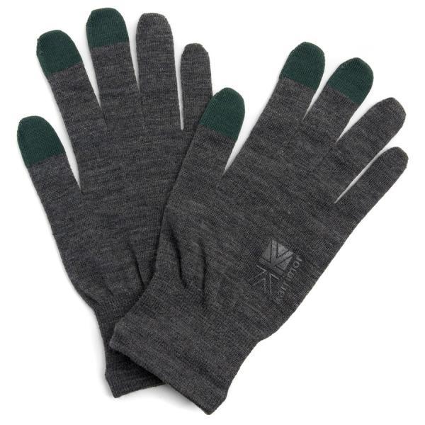 手袋 カリマー karrimor wool logo glove グローブ|2m50cm|13
