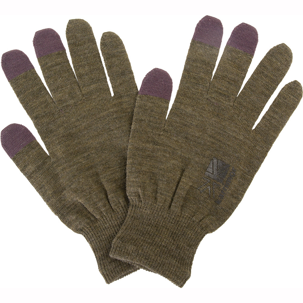 karrimor wool logo glove +d