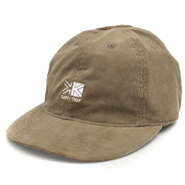 帽子 karrimor カリマー キャップ corduroy logo cap 帽子|2m50cm|11