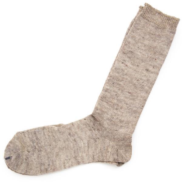 靴下 Small Stone Socks スモールストーンソックス 麻 (リネン) 90% ソックス II 2m50cm 21