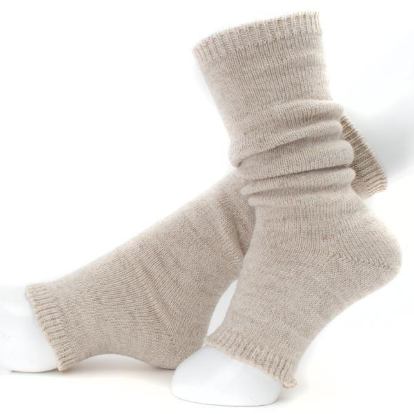 靴下 Small Stone Socks リネンウール サンダルソックス レッグウォーマー|2m50cm|08
