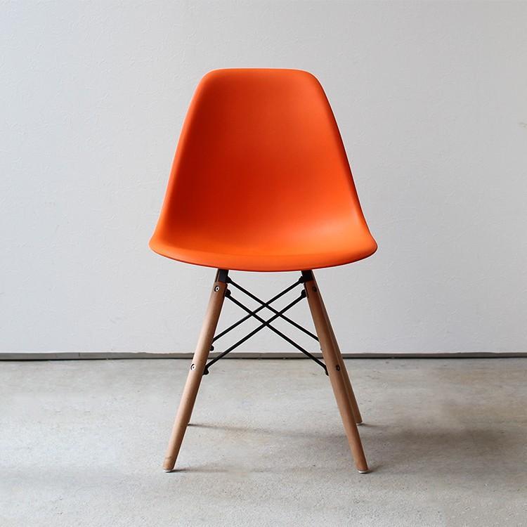 イームズチェア シェルチェア 2脚セット 椅子 イス DSW eames ダイニングチェア リプロダクト デザイナーズ家具 ジェネリック 木脚 MTS-032(NA)|3244p|25