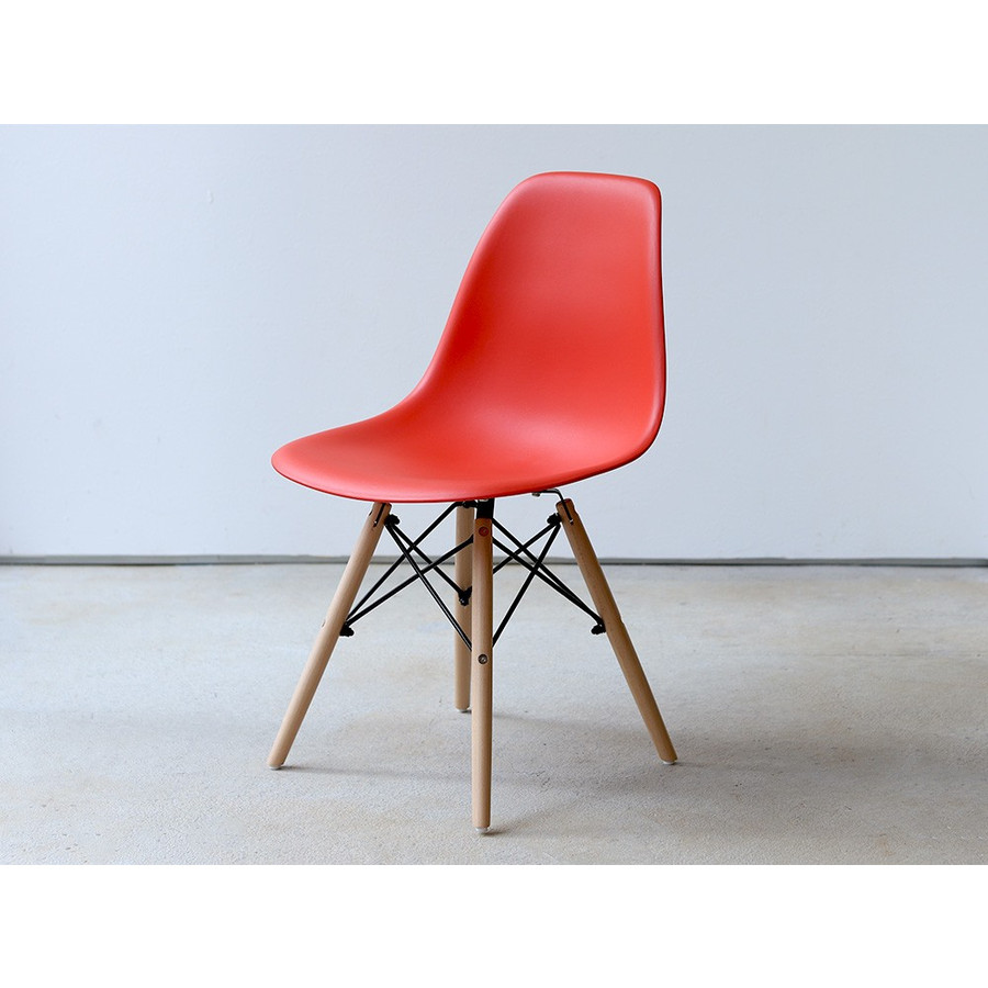 イームズチェア シェルチェア 2脚セット 椅子 イス DSW eames ダイニングチェア リプロダクト デザイナーズ家具 ジェネリック 木脚 MTS-032(NA)|3244p|36