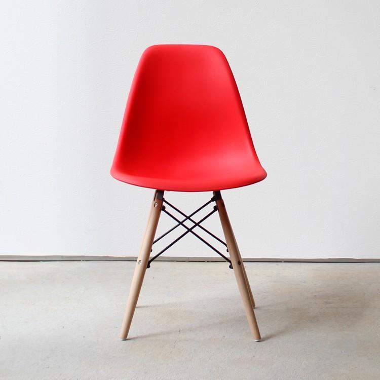 イームズチェア シェルチェア 2脚セット 椅子 イス DSW eames ダイニングチェア リプロダクト デザイナーズ家具 ジェネリック 木脚 MTS-032(NA)|3244p|26