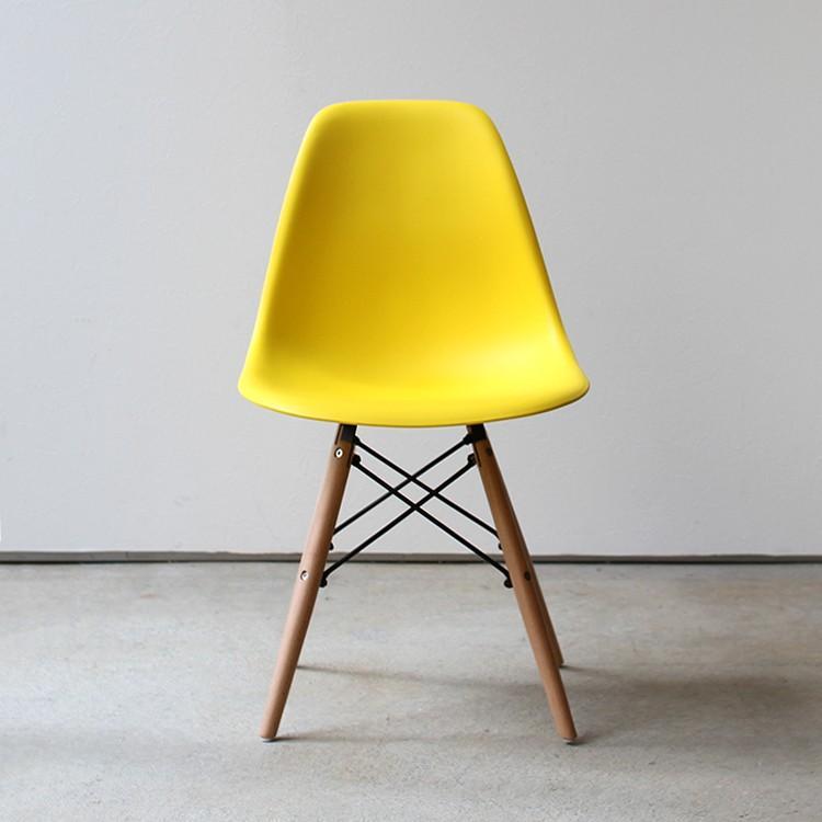 イームズチェア シェルチェア 2脚セット 椅子 イス DSW eames ダイニングチェア リプロダクト デザイナーズ家具 ジェネリック 木脚 MTS-032(NA)|3244p|24