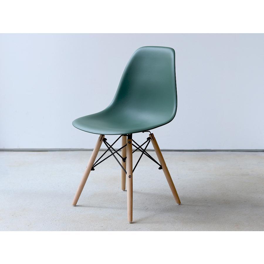 イームズチェア シェルチェア 2脚セット 椅子 イス DSW eames ダイニングチェア リプロダクト デザイナーズ家具 ジェネリック 木脚 MTS-032(NA)|3244p|33