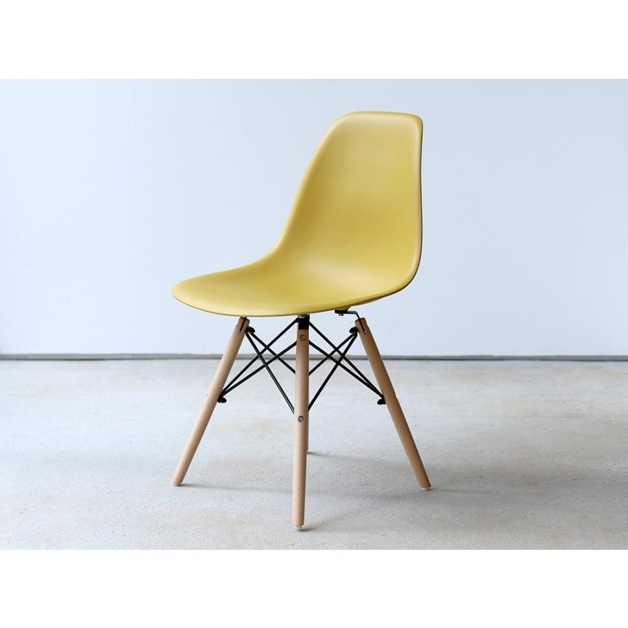 イームズチェア シェルチェア 2脚セット 椅子 イス DSW eames ダイニングチェア リプロダクト デザイナーズ家具 ジェネリック 木脚 MTS-032(NA)|3244p|34