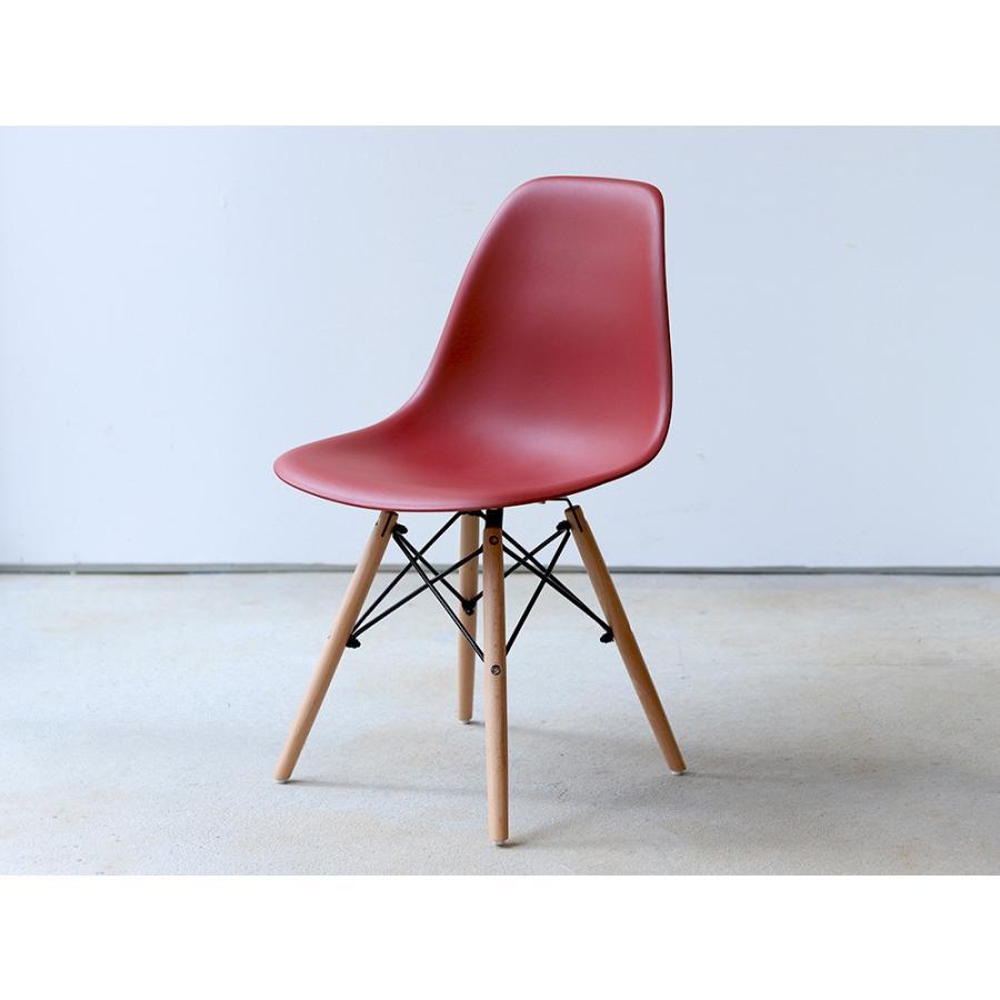 イームズチェア シェルチェア 2脚セット 椅子 イス DSW eames ダイニングチェア リプロダクト デザイナーズ家具 ジェネリック 木脚 MTS-032(NA)|3244p|35