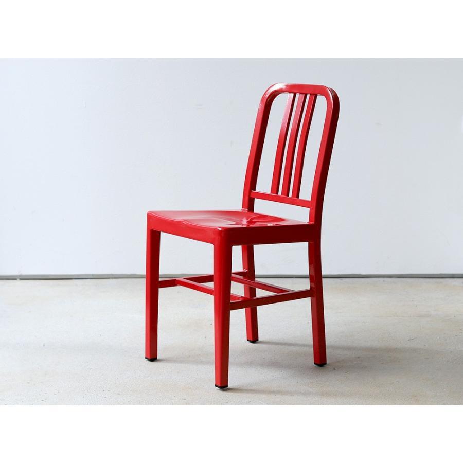 ネイビーチェア 2脚セット リプロダクト 椅子 イス ダイニングチェア レッド アルミ ブラック MTS-056 3244p 18