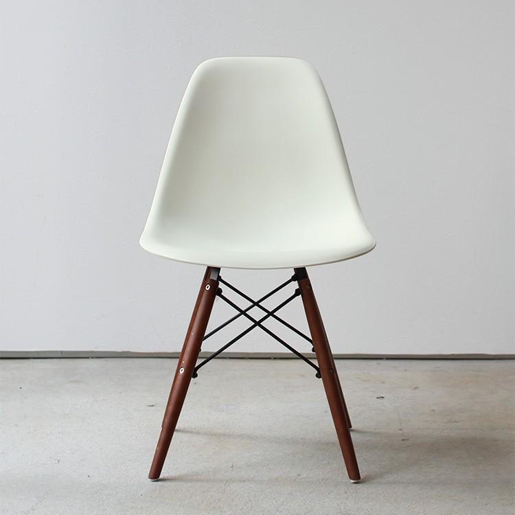 イームズチェア シェルチェア ウッドベース 椅子 イス DSW eames ブラウン木脚 リプロダクト ダイニングチェア MTS-032(BR)|3244p|20