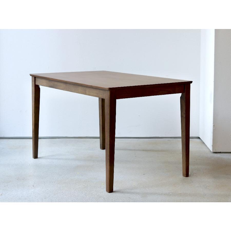 ダイニングテーブル 木製 W120×D75(cm) 2〜4名用 長方形 ナチュラル ブラウン MTS-060|3244p|23