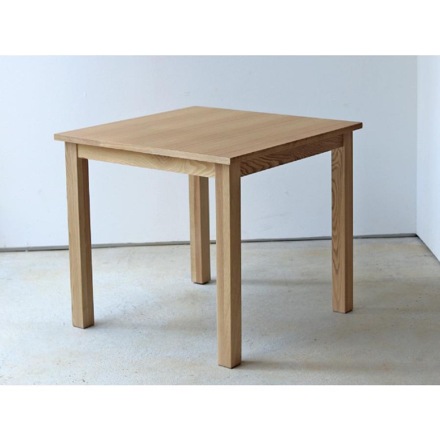 ダイニングテーブル アウトレット セール W800 80cm 2名用 ナチュラル ウォールナット アッシュ 木製 novo series ノヴォシリーズ|3244p|22