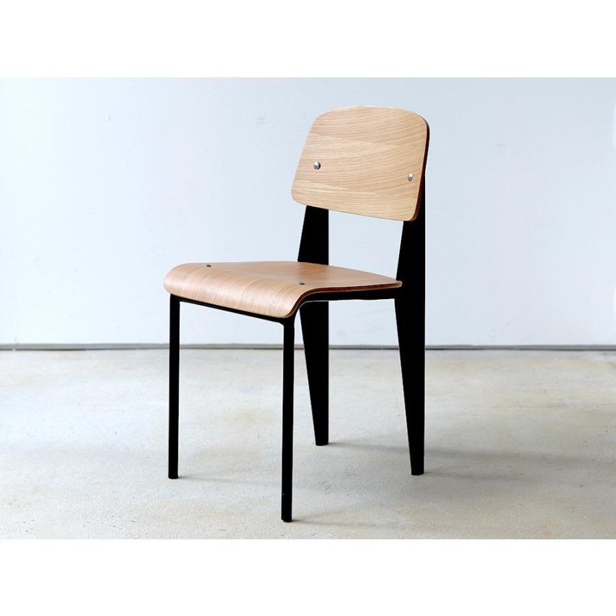 スタンダードチェア リプロダクト 椅子 イス Standard chair ジャン・プルーヴェ BK VA DP PG MTS-139|3244p|23
