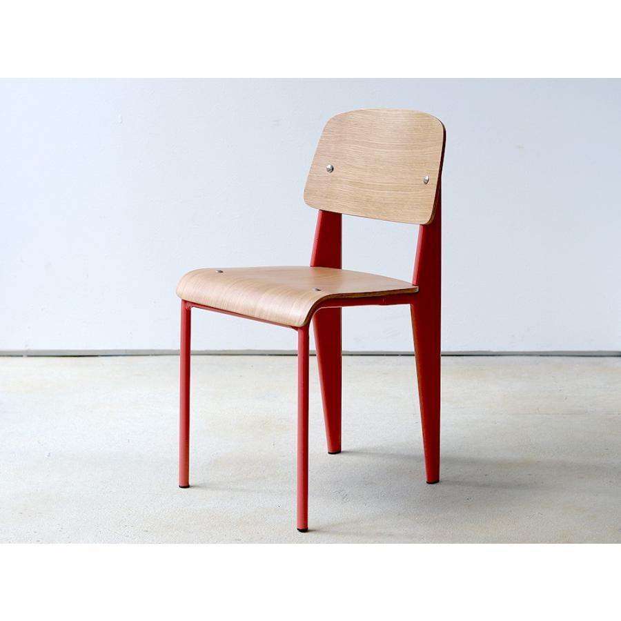 スタンダードチェア リプロダクト 椅子 イス Standard chair ジャン・プルーヴェ BK VA DP PG MTS-139|3244p|26
