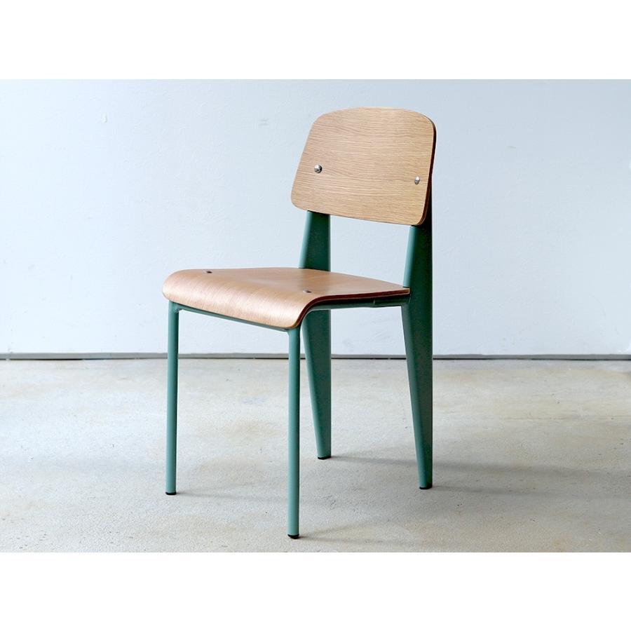 スタンダードチェア リプロダクト 椅子 イス Standard chair ジャン・プルーヴェ BK VA DP PG MTS-139|3244p|24