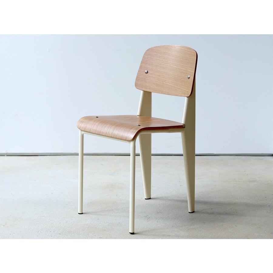 スタンダードチェア リプロダクト 椅子 イス Standard chair ジャン・プルーヴェ BK VA DP PG MTS-139|3244p|22