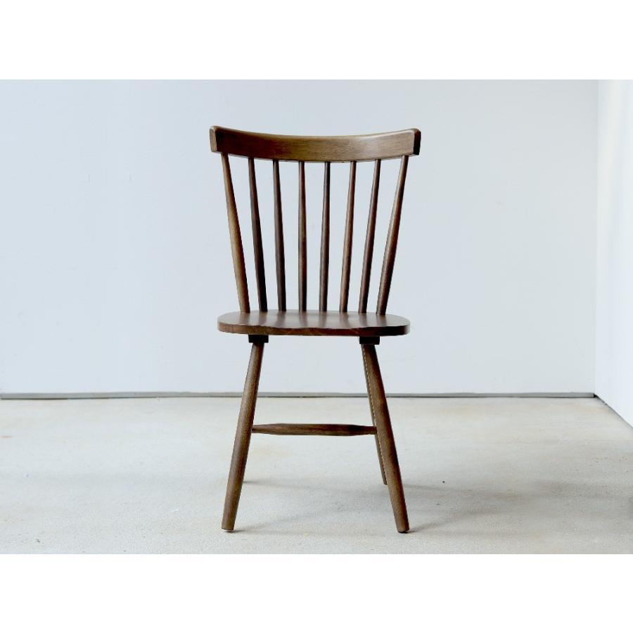 ダイニングチェア 椅子 いす イス 木製椅子 ラバーウッド 木製 ナチュラル ウォールナット ブラック ファンバック ウィンザーチェア風 MTS-152|3244p|22