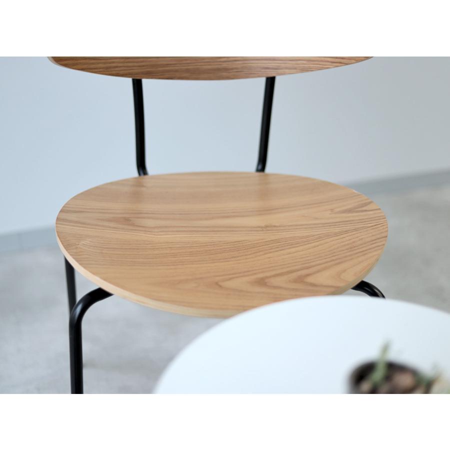 ダイニングチェア アイアン ウッド 木製チェア イス 椅子 スタッキングチェア アッシュ タモ ナチュラル ウォールナット 【数量限定セール】|3244p|22