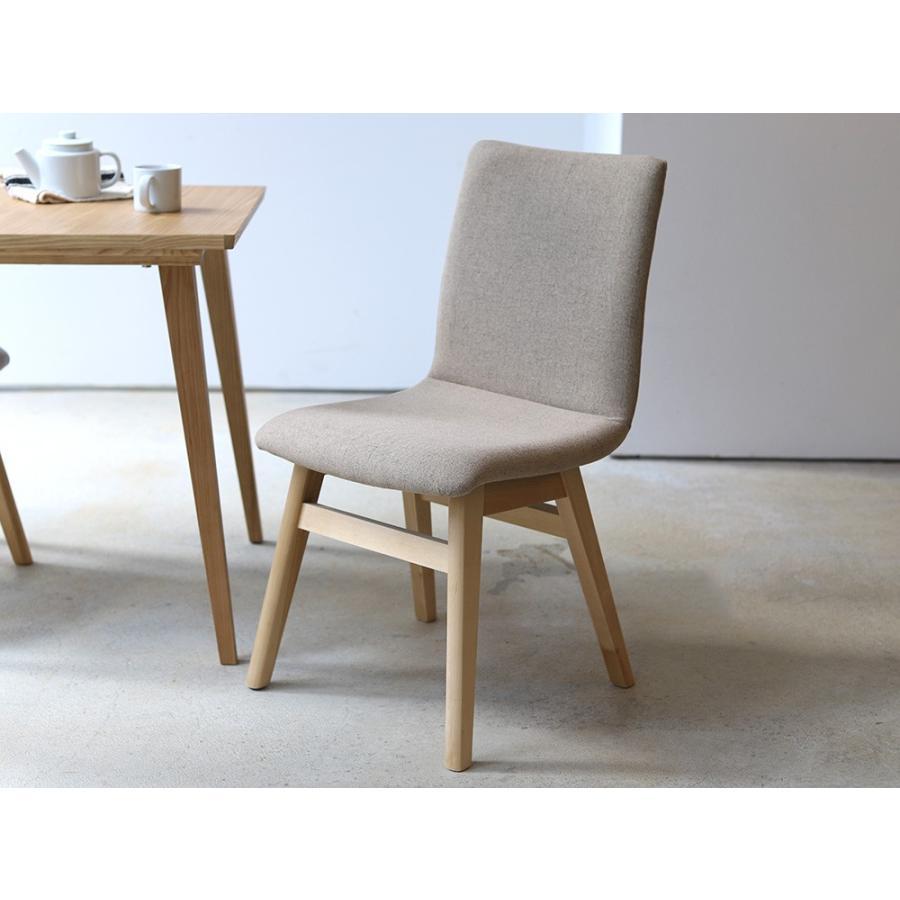ダイニングチェア 椅子 イス チェア 布張り グレー ベージュ ライトブルー GY BE LB 北欧 HOC-711|3244p|19