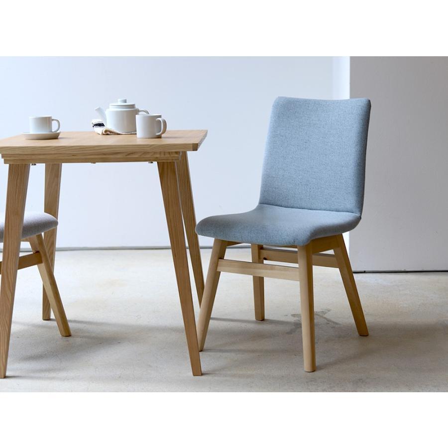 ダイニングチェア 椅子 イス チェア 布張り グレー ベージュ ライトブルー GY BE LB 北欧 HOC-711|3244p|20