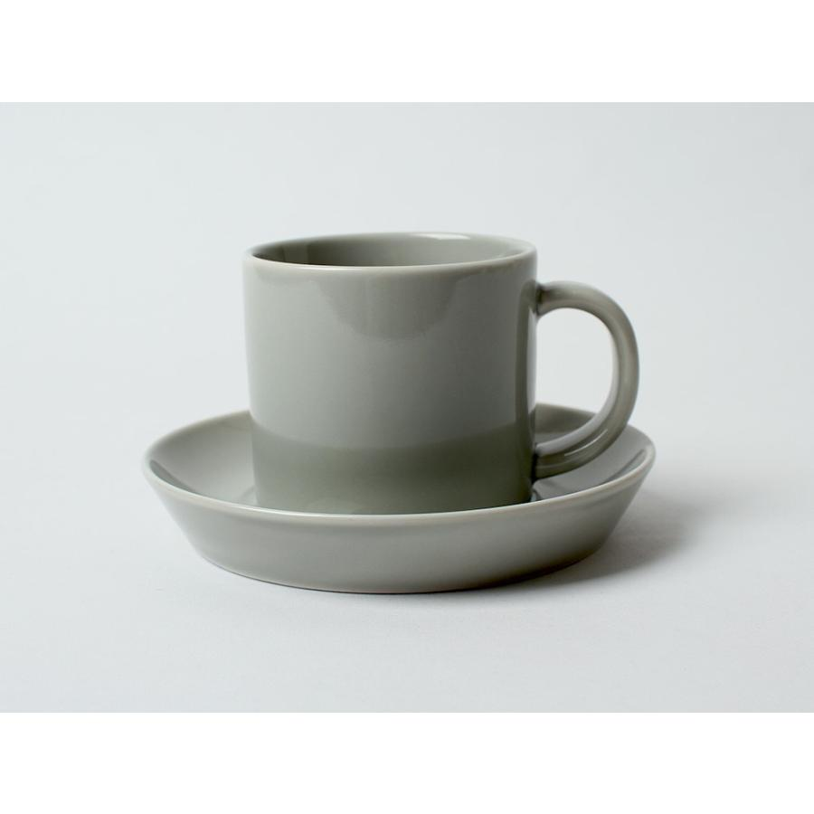Common コーヒーC&S 180ml カップ ソーサー セット 西海陶器 SAIKAI WH GY YE NV RD GR|3244p|23