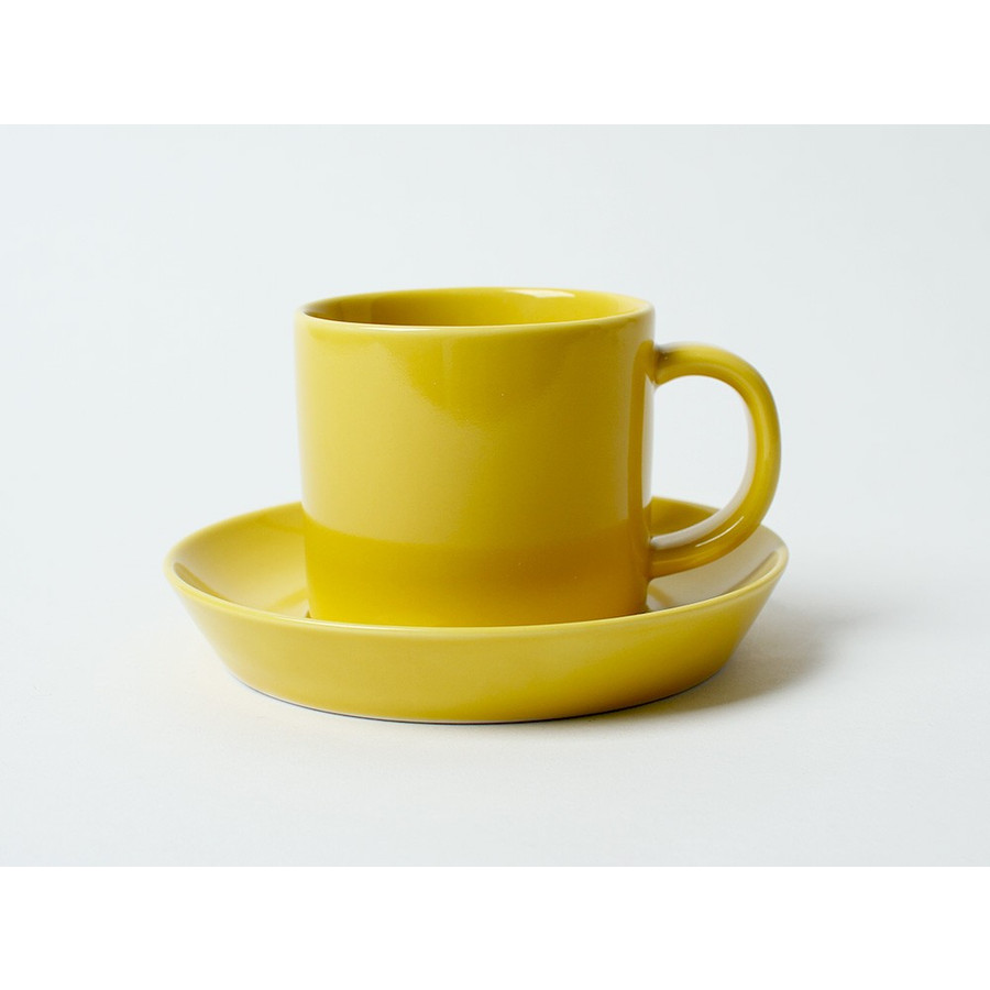 Common コーヒーC&S 180ml カップ ソーサー セット 西海陶器 SAIKAI WH GY YE NV RD GR|3244p|25