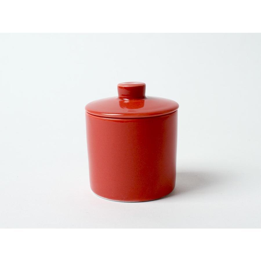 Common シュガーポット 100ml 砂糖入れ 西海陶器 SAIKAI WH GY YE NV RD GR|3244p|26