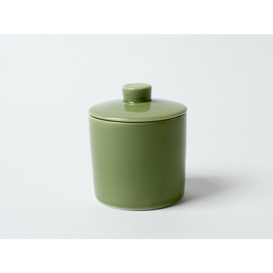 Common シュガーポット 100ml 砂糖入れ 西海陶器 SAIKAI WH GY YE NV RD GR|3244p|24