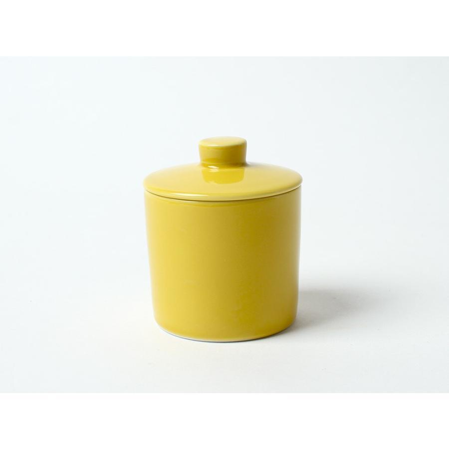 Common シュガーポット 100ml 砂糖入れ 西海陶器 SAIKAI WH GY YE NV RD GR|3244p|25