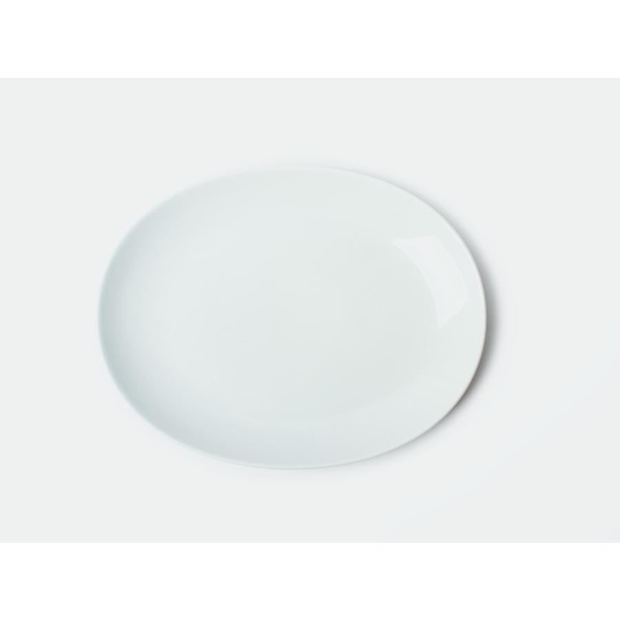 Common オーバルプレート 270mm 西海陶器 SAIKAI WH GY YE NV RD GR|3244p|20