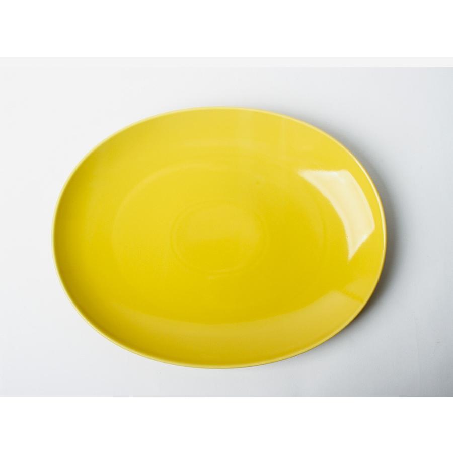 Common オーバルプレート 310mm 西海陶器 SAIKAI WH GY YE NV RD GR|3244p|22