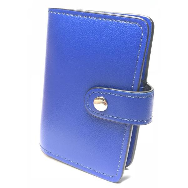 カードケース 磁気防止 薄型 レザー 大容量 カード入れ  全9色 22枚収納 男女兼用 ギフトケース付 プレゼント ハンドスピナー付属|34618|23