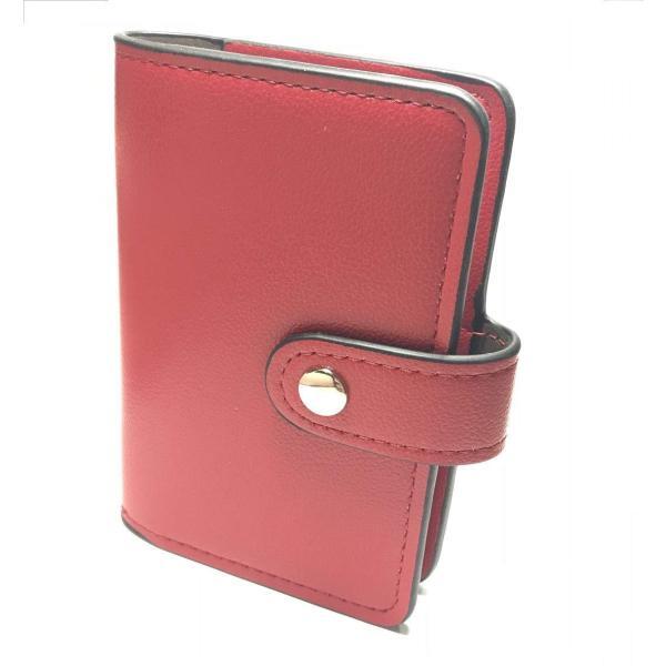 カードケース 磁気防止 薄型 レザー 大容量 カード入れ  全9色 22枚収納 男女兼用 ギフトケース付 プレゼント ハンドスピナー付属|34618|26