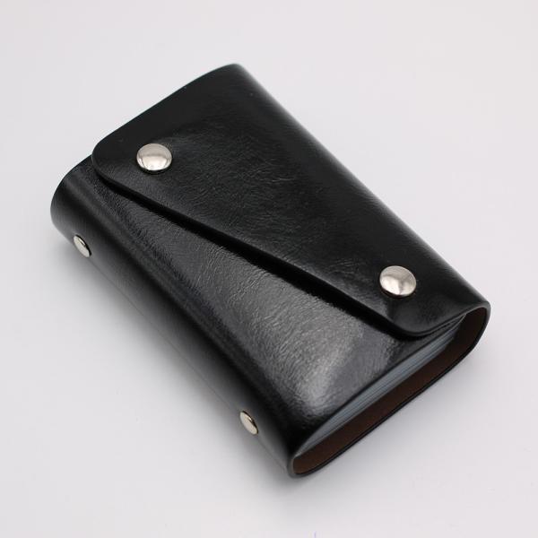 カードケース 20枚収納 全9色 磁気防止 レザー スリム カード入れ 男女兼用 kk1816|34618|07