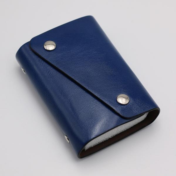 カードケース 20枚収納 全9色 磁気防止 レザー スリム カード入れ 男女兼用 kk1816|34618|10